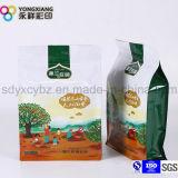 La talla modificó el bolso secado del empaquetado para requisitos particulares plástico de la fruta del bocado de la parte inferior plana de la categoría alimenticia