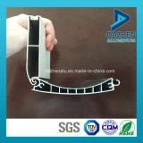 Profil d'extrusion de l'aluminium 6063 pour le guichet de porte de garage de roulement de rouleau