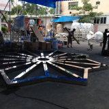 Fontana personalizzata dell'acciaio inossidabile della fontana di acqua di musica del loto