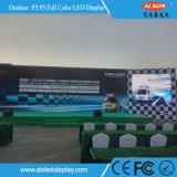 단계를 위한 옥외 P5.95 풀 컬러 임대 LED 스크린
