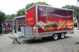 Fenster-kundenspezifischer mobiler Nahrungsmittel-LKW