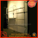 Metal Display Stand Clothes Hanging Rail