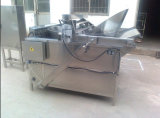 Frigideira automática do grupo do alimento, alimento que frita a máquina