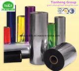 薬剤のパッキングのためのPVCによって金属で処理されるシートのプラスチック堅いシートPVC堅いフィルム