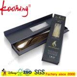 Boîte à paquets de cheveux en fermeture magnétique avec fenêtre claire