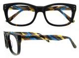 De met de hand gemaakte Frames van de Oogglazen van de Oogglazen van de Frames van Eyewear van de Acetaat Optische Italiaanse