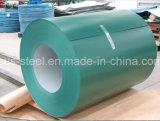 La bobina del color, colorea la hoja de acero revestida de Aluzinc, PPGI, bobina de acero galvanizada prepintada