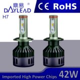 96W 9600lm 5500K LED 전구 차 부속품 Headlamp