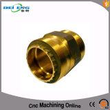 Подгонянная латунь CNC разделяет подвергли механической обработке CNC, котор клапан входа