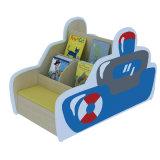 Muebles de los niños del estante del estilo de la historieta