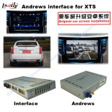 Androide GPS-Navigationsanlage-videoschnittstelle für Cadillac Xts