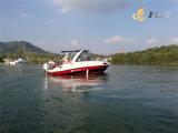 Hete Verkoop 7.3m Boot van de Motor van Ourboard van de Cabine van Persoon 10-12 de Halve voor Verkoop