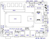 統合されたコアHaswell-U移動式プロセッサのマザーボード内蔵2GB/4GB DDR3l RAM (HU803)