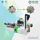 Plástico rígido dos PP do PE que recicl a máquina da peletização