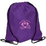 Sac en nylon de sac à dos d'épaule de course d'achats de cordon de mode pour la promotion
