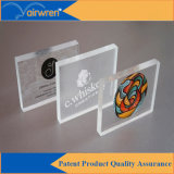 Bonne qualité Cmyk + 4 imprimante à jet d'encre UV à jet d'encre A3 Size Glass Printer