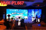 2016 visualización de LED a todo color de interior de alta resolución de la venta caliente P1.667 con buen precio