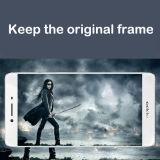 Volle abgedeckte Bildschirm-Schoner-ausgeglichene Glasschicht für Oppo R7s