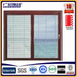 Ventana del aluminio y del marco del oscilación de la puerta con las láminas
