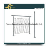 Projeto ao ar livre interno do corrimão do aço inoxidável da manufatura para escadas