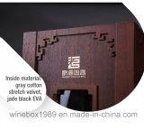 Rectángulo de empaquetado del vino del rectángulo rígido retro de lujo del MDF