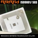 Tag RFID inaltérable imprimable programmable d'OIN 15693 pour des marchandises