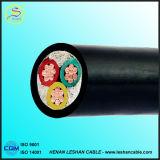 Fils électriques et câbles des prix d'application bon marché colorée de ménage