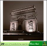 Het Schilderen van de Toren van Eiffel, de Plaat van het Metaal van de Reclame, Decor c214-2 van de Muur van de Bar