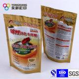 Sac personnalisé d'empaquetage en plastique d'aliment pour animaux familiers pour le crabot, poisson