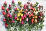 결혼식 훈장을%s 실크 인공 꽃 로즈 새싹 가짜 꽃