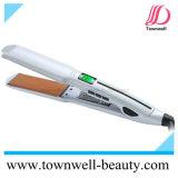Ayunar calientan para arriba el hierro plano del pelo de la enderezadora del pelo con la opción de la función de la vibración