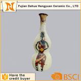 Vaas van de Decoratie van het Porselein van de Verf van de hand de Antieke