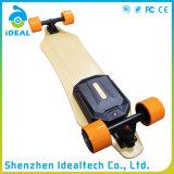 지능적인 4 바퀴 2*1100W 35km/H 무브러시 모터 Longboard 전기 스케이트보드