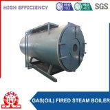 Caldaia a vapore a petrolio dell'acqua calda e di combustione dell'alloggiamento
