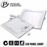6W白く細いLEDの照明灯(正方形)