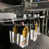 나사 유형 주둥이 주머니를 위한 자동적인 액체 충전물 기계장치