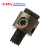 Peça de automóvel de alumínio do conetor da câmara de ar