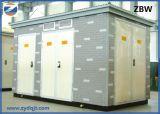 Potere a forma di scatola unito Substationn della sottostazione del trasformatore