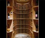 Personnaliser les meubles luxueux de Home&Bar d'étagères de bouteilles de vin de cave