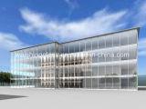 12mm Hige 질 상업 적이고 및 주거 건물, 외벽 사무실 건물 두 배 유리벽