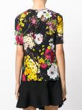 工場優雅な女性の花はTシャツを印刷した
