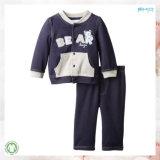 カスタムサイズの子供の摩耗のGotsの子供の衣服はセットした