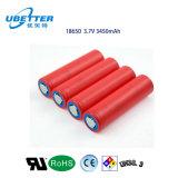 Bateria de lítio do fornecedor NCR18650ga 3.7V 3500mAh da bateria de Coreia
