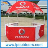 Atractive förderndes sechseckiges Kreis-Stand-Kostenzähler-Zelt für achtgebenden Verkauf