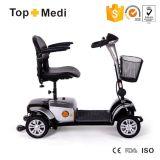 TopmediのTiltableヘッド円形のハンドルの障害がある電気移動性のスクーター