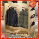 Loja Display de roupas Display Slatwall para roupas