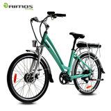 Bicicleta elétrica verde /36V 250W Ebike/bicicleta elétrica da cidade da cidade