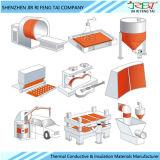 Пусковые площадки циновок плиты топления силиконовой резины для алюминиевой плиты