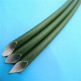 Silicone Met een laag bedekte Glasvezel Sleeving voor de Bescherming van de Kabel van de Draad van de Hoogspanning