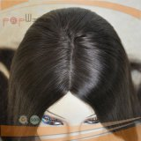 Законченный длиной будет такой же ровный тип надкожица Remy девственницы человека 100% полная Intact на парике волос Silk верхнем еврейском Kosher